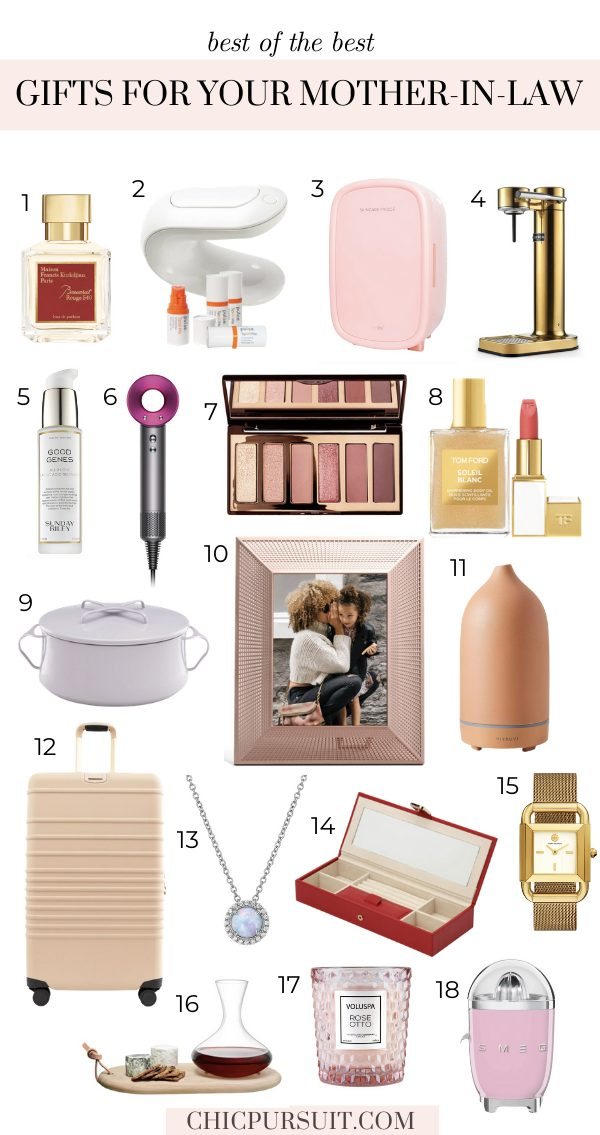 The best luxury gifts for your mother-in-law