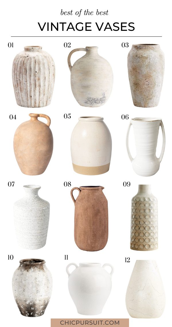 50+ Stylish Decorative Vases For The Home That You'll Love