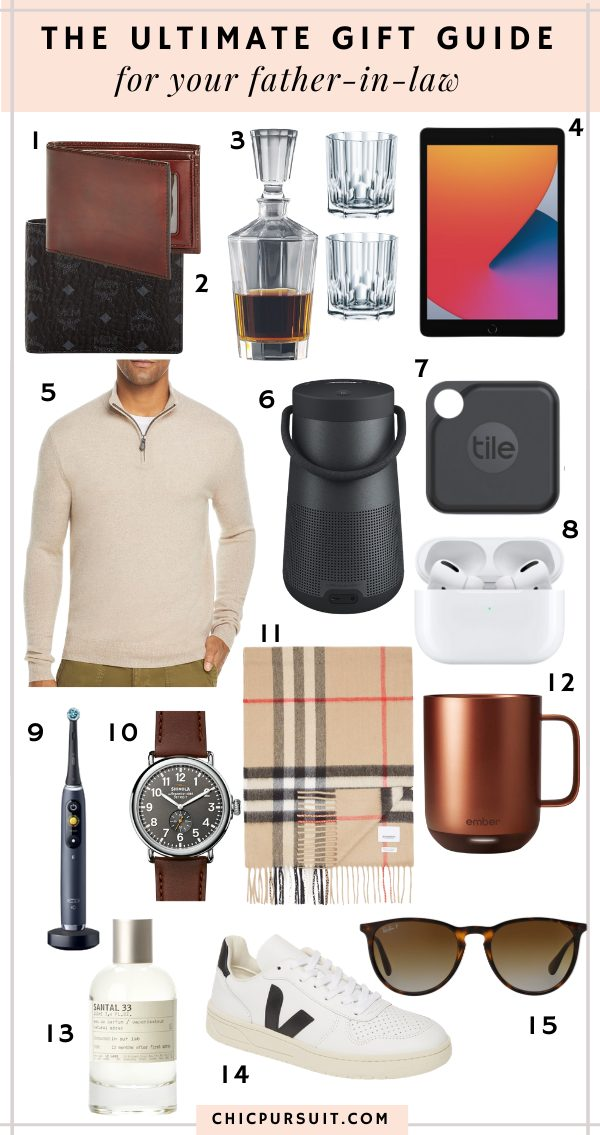 The best luxury gifts for father-in-law
