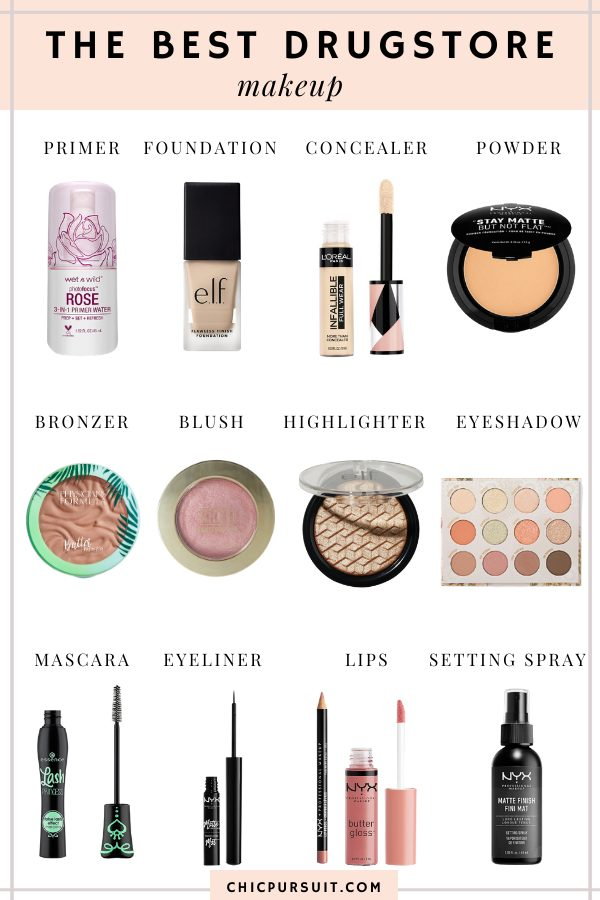 12 Best Drugstore Makeup Must Haves That Everyone Is Talking About