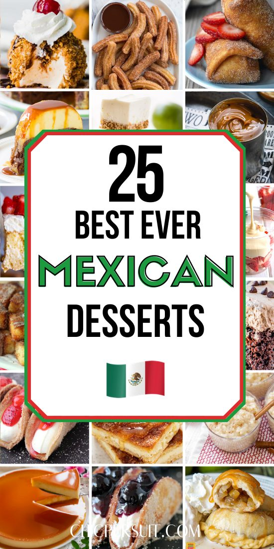 Best easy and authentic Mexican desserts