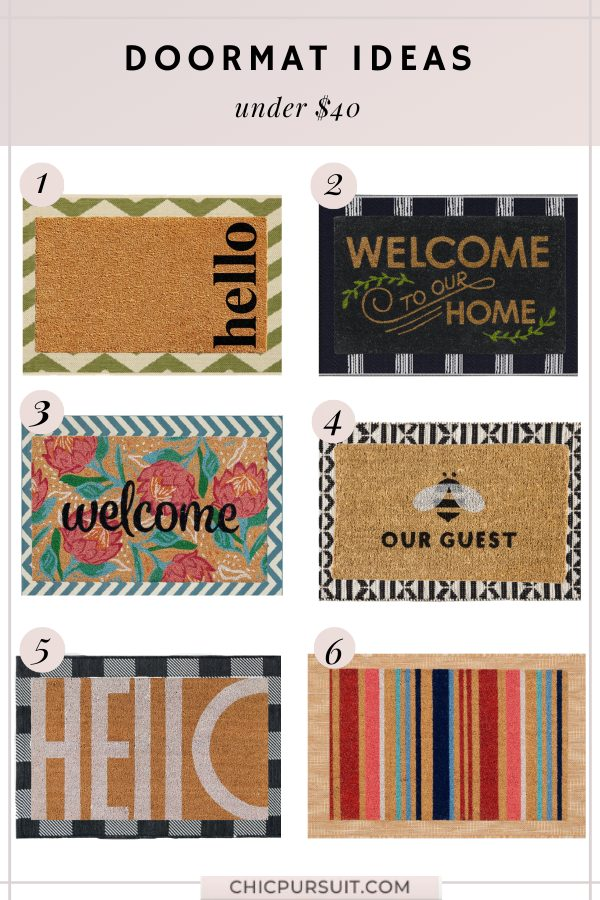 6 Unique Layered Doormat And Rug Ideas For Your Front Porch