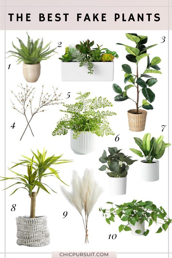 The best artificial plants, faux plants and fake plants for your home
