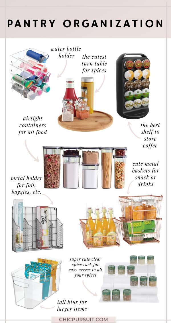 The Best Pantry Organization & Storage Ideas For The Home