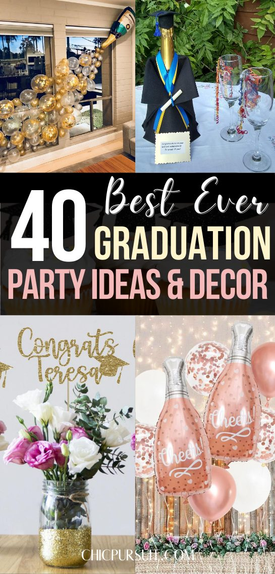 The best affordable graduation part ideas and graduation decorations