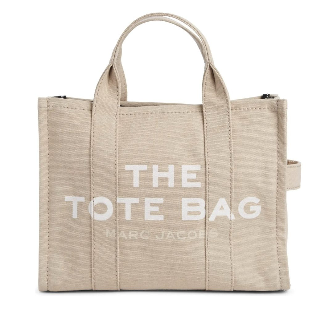 Beige Marc Jacobs The Tote Bag
