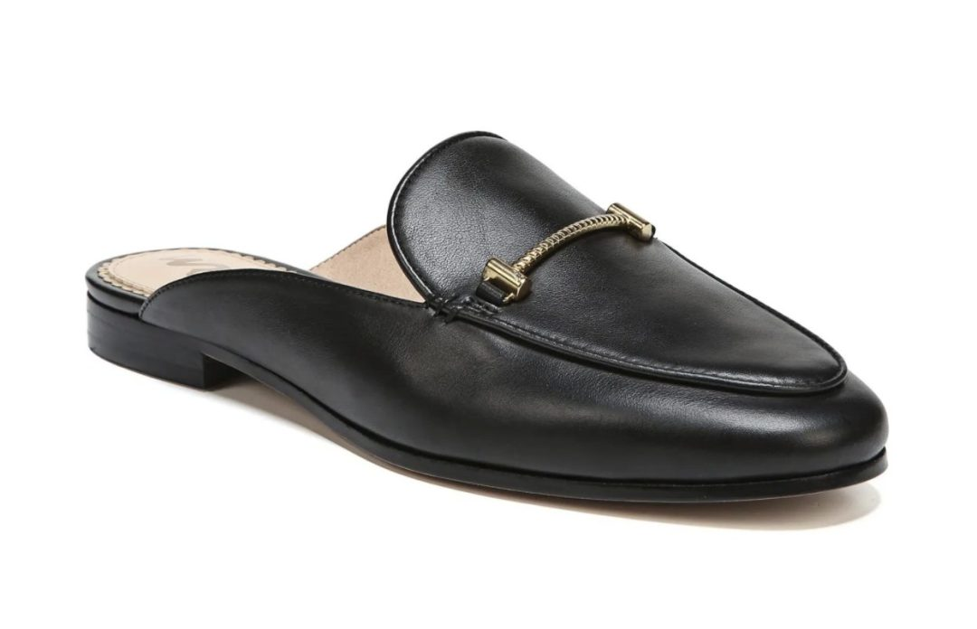 Blak mules / loafers
