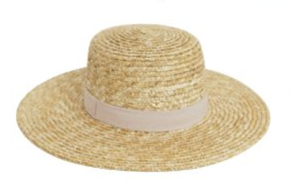 Affordable summer straw hat