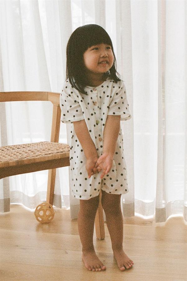 Cute playsuit for kids