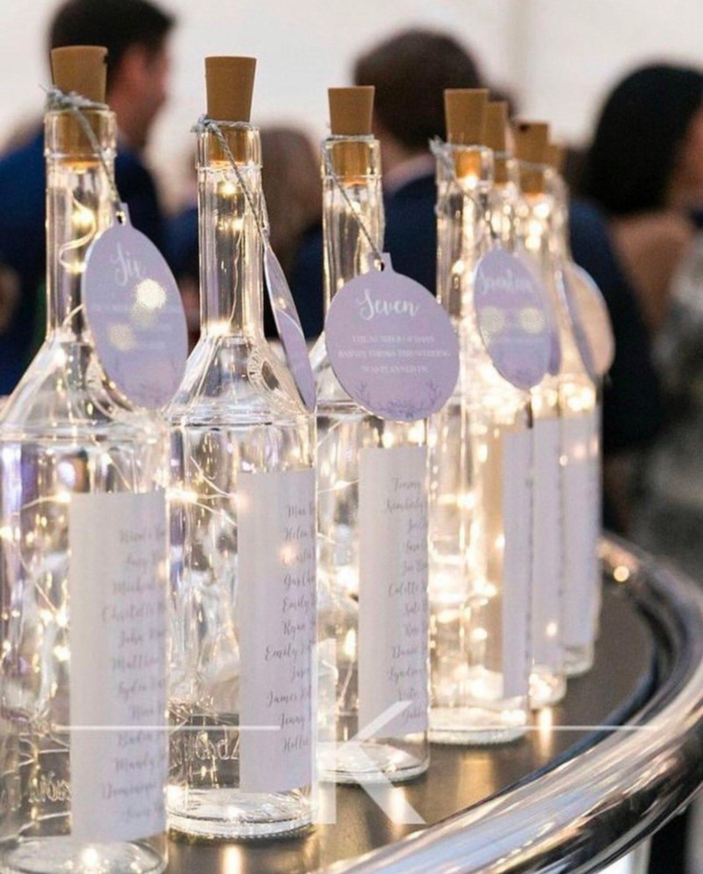 Bottle lights for decoration