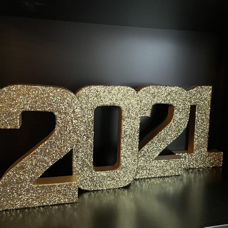 Class of 2021 graduation sign