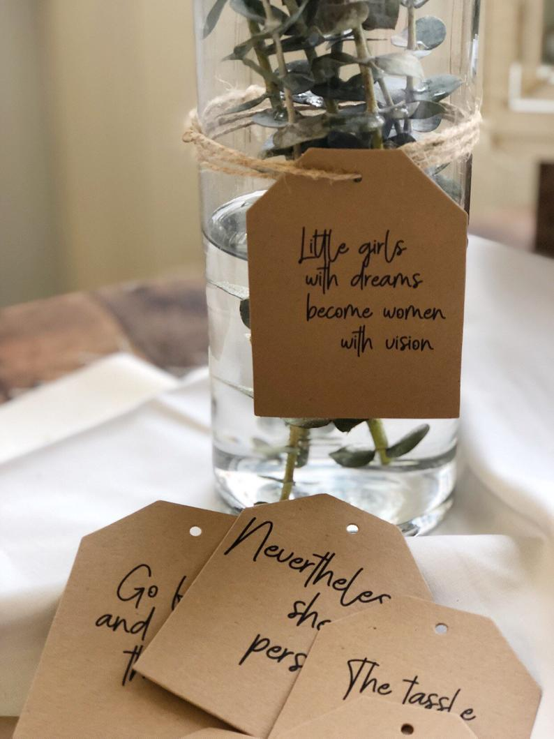 Inspirational Graduation Quote Tags