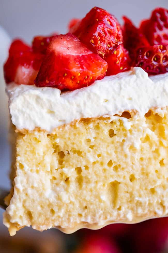 Authentic Mexican desserts: tres leches cake