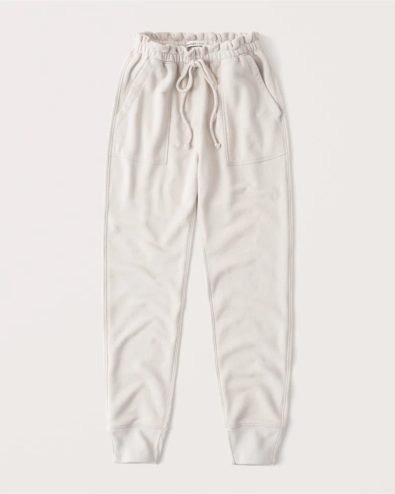 Light grey sweatpants / joggers for lounging