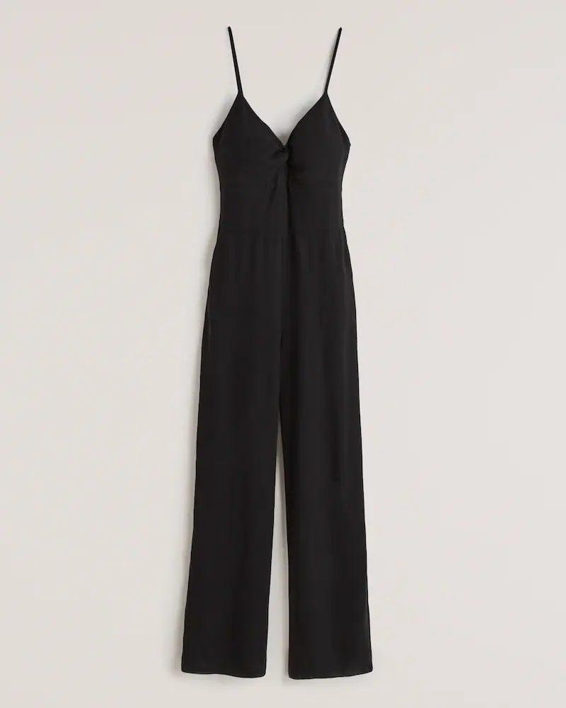 Black jumpsuit for summer