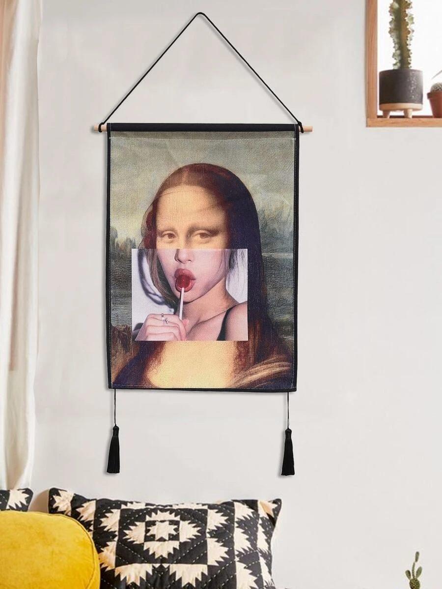 Trendy Mona Lisa wall art
