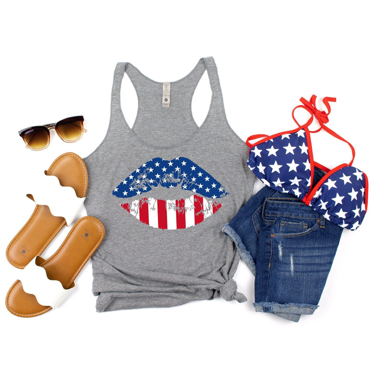 Casual 4th of July outfit