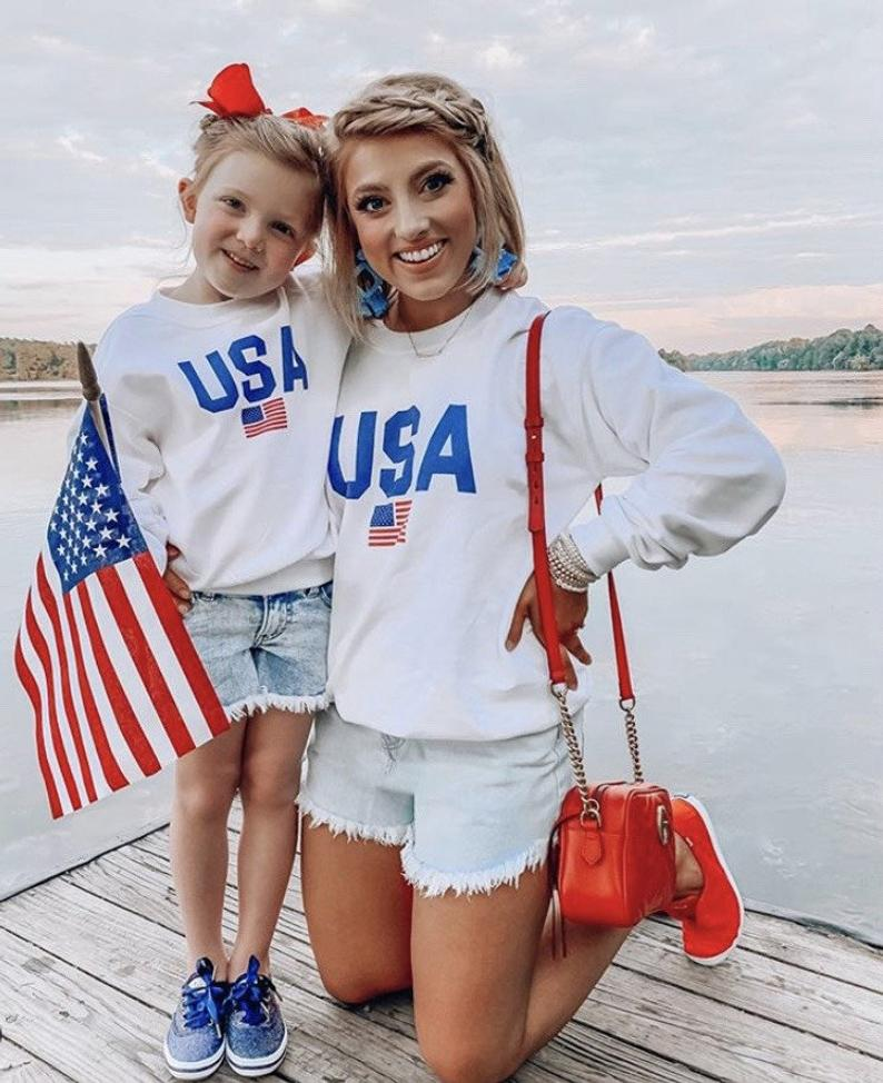 Cute mommy and me 4th of July outfit
