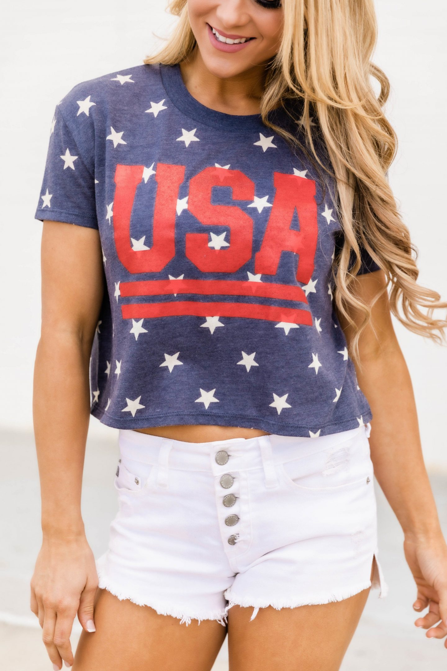 USA t-shirt - cute 4th of July outfit