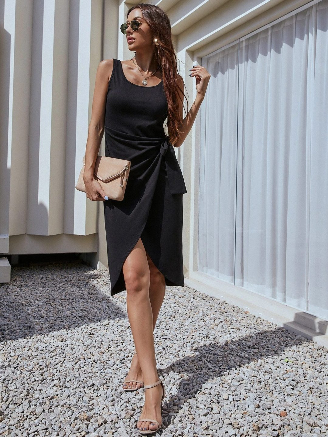Casual black outfits with dress
