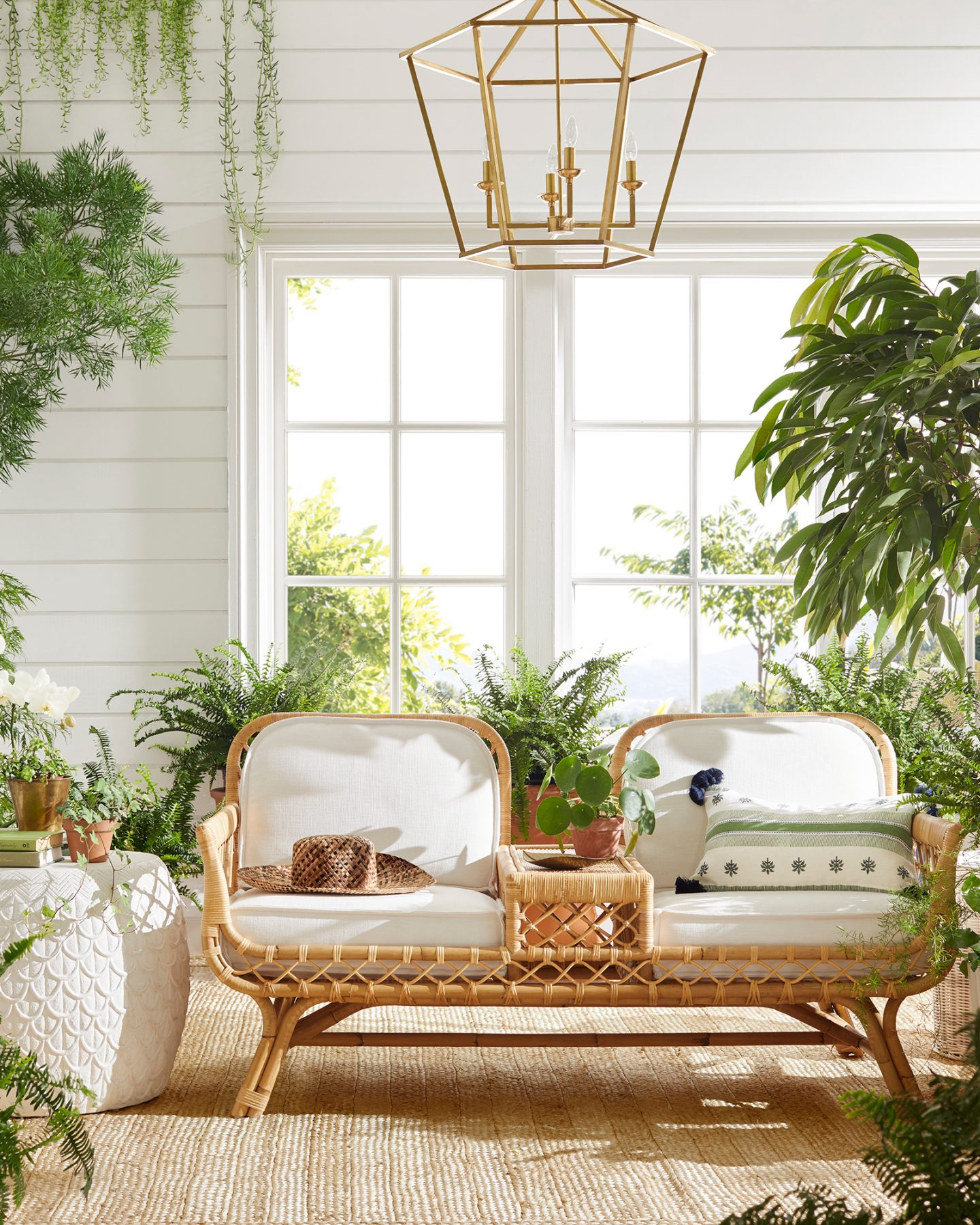 Bohemian stores like Anthropologie home: Serena & Lily