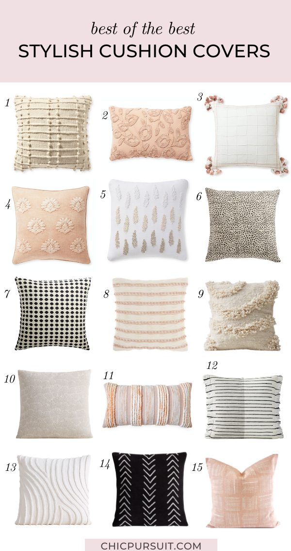 20 Beautiful Throw Pillows To Add Elegance To Your Home