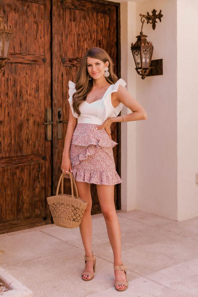 Cute casual summer outfits with skirt