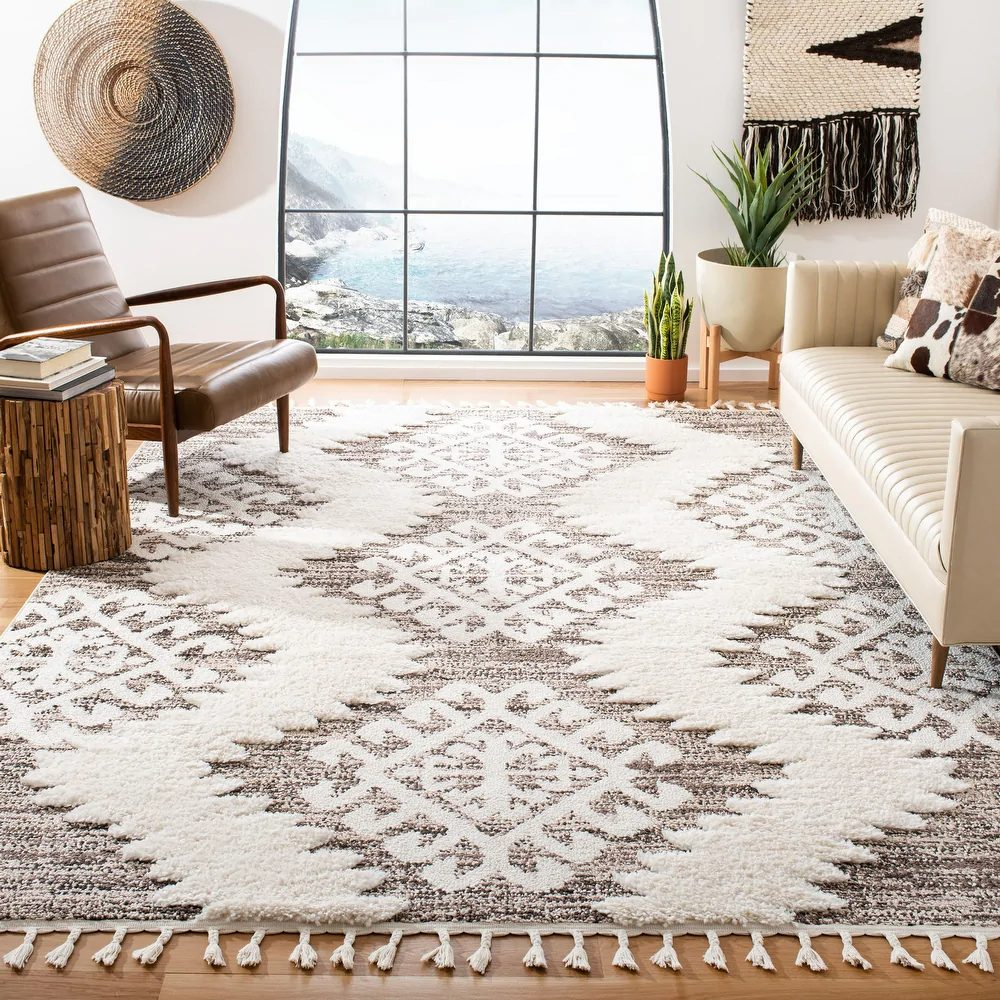 Affordable stores like Anthropologie home: Overstock's Moroccan rugs