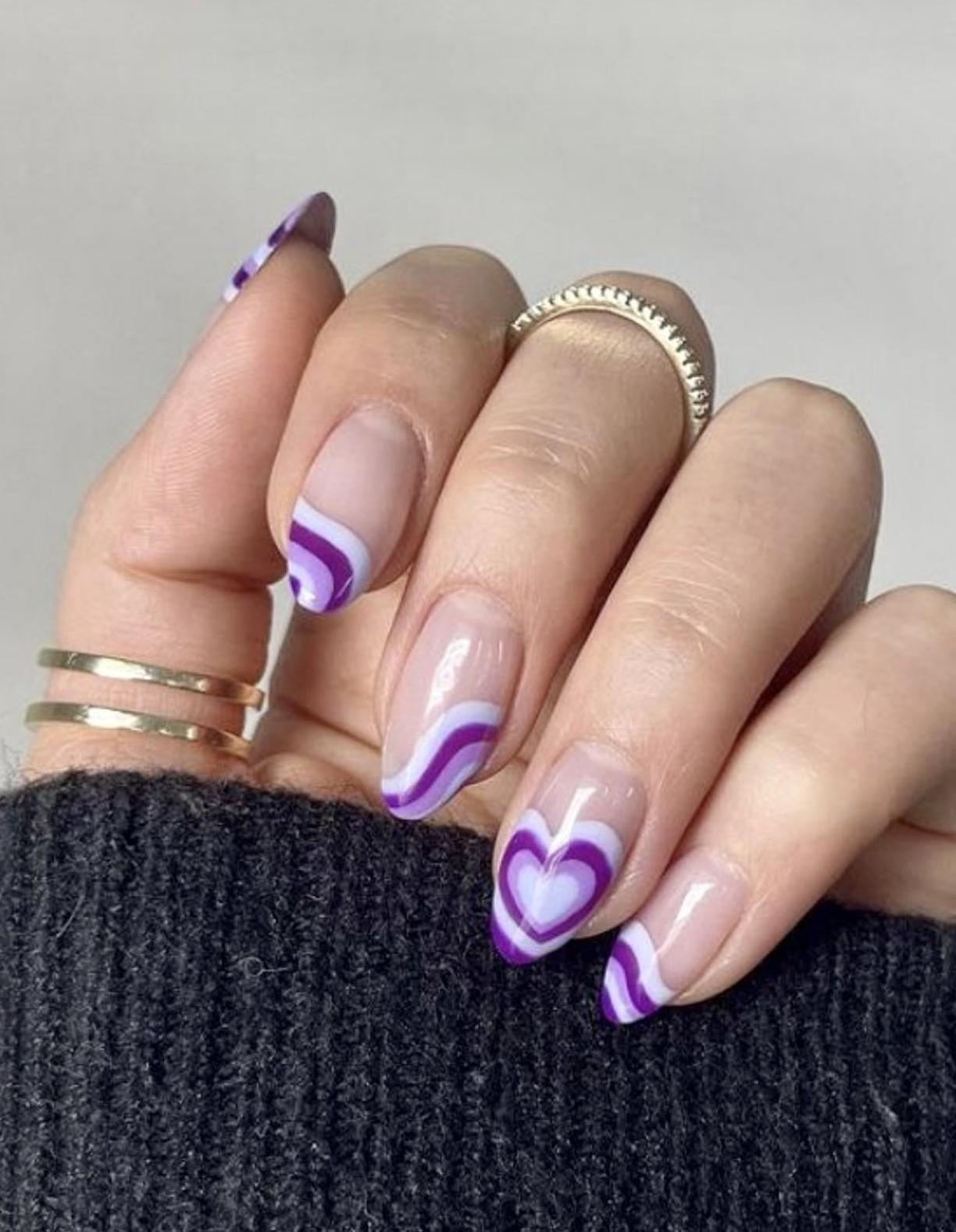 40+ Pretty Purple Nail Ideas & Designs You'll Love