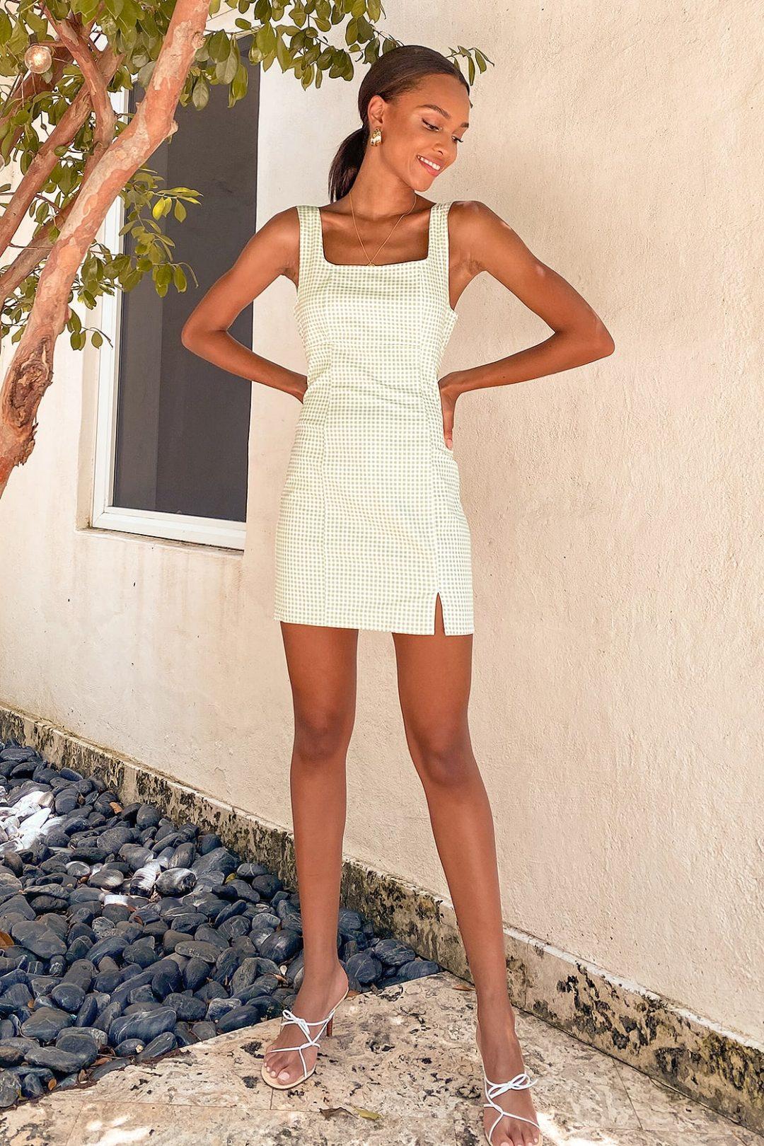 The best affordable brands like Sabo Skirt for mini dresses: Lulus