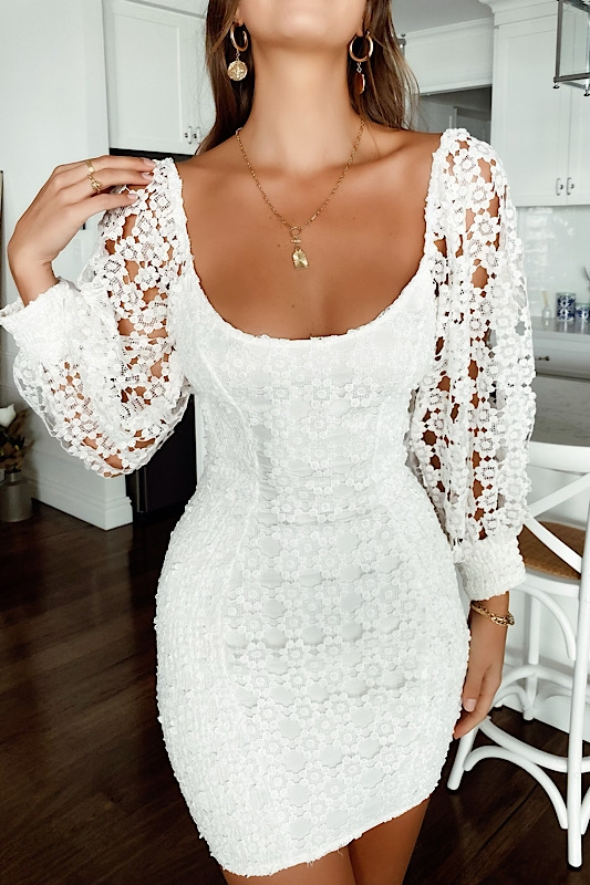 The best brands like Sabo Skirt for white lace dresses: Stelly