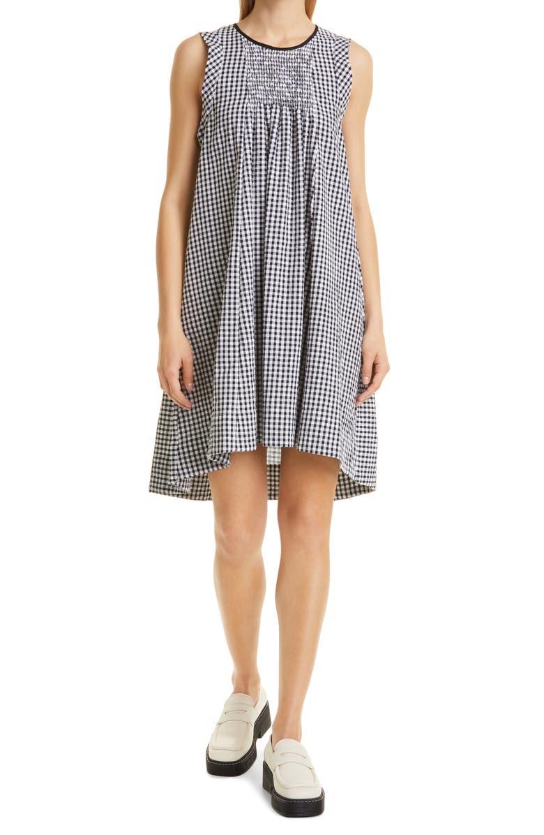 Checkered house dress