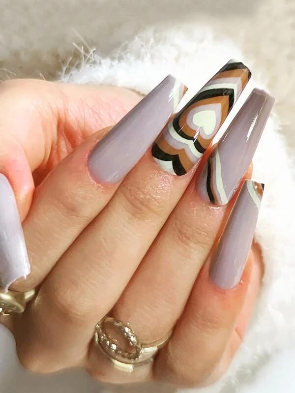 50+ Cute Coffin Nail Designs You Can Recreate At Home