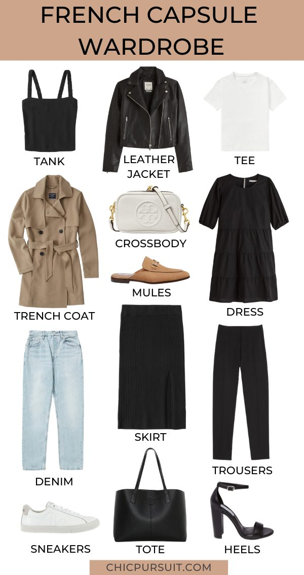 How To Create The Perfect Minimalist French Capsule Wardrobe