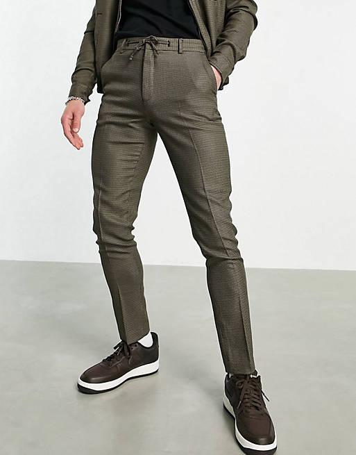 Dark grey suit set for men for gender reveal party