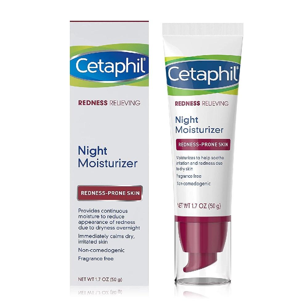 Cetaphil Redness Relieving Night Moisturizer,