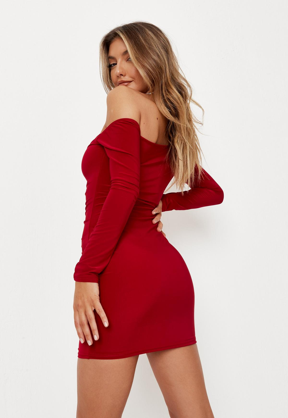 The Best Red Dresses For Date Night: Missguided
