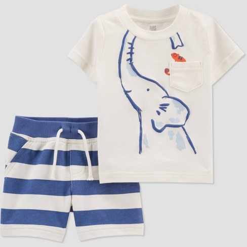 Elephant outfit set for baby boys