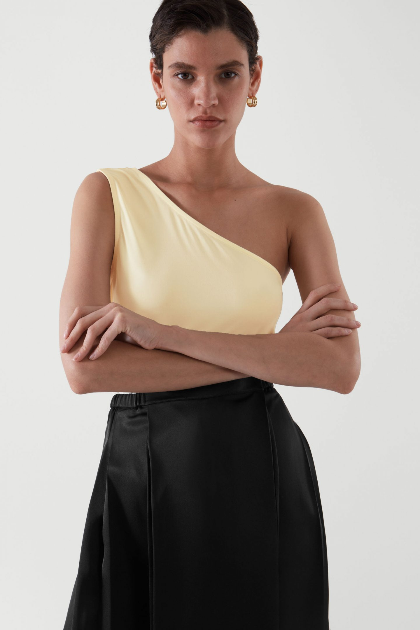 One shoulder top from COS