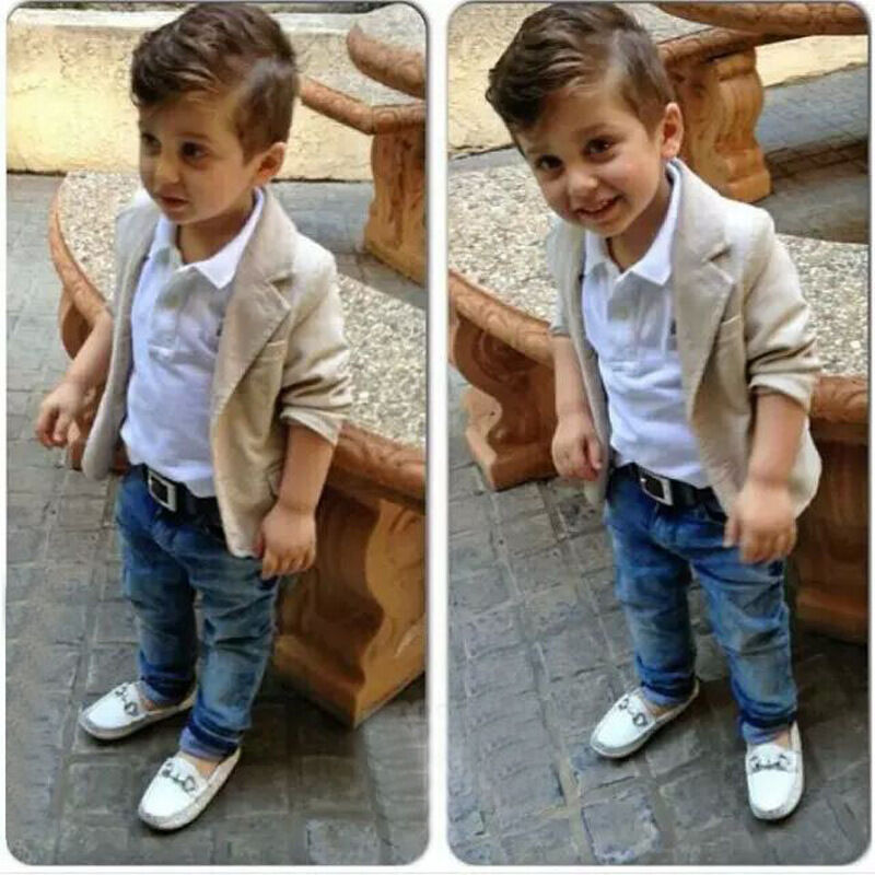 Dapper gentleman outfit for baby boys