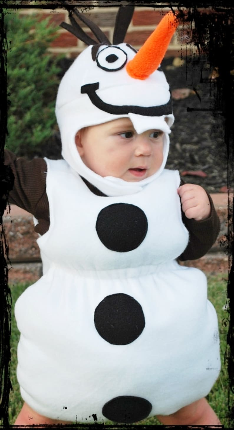 Olaf the snowman Halloween costume for babies