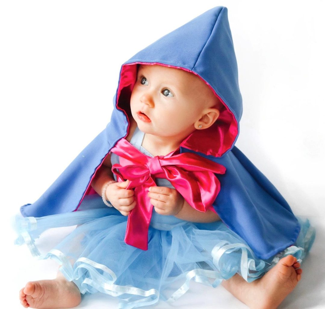 Fairy godmother costume for toddler girls and newborns