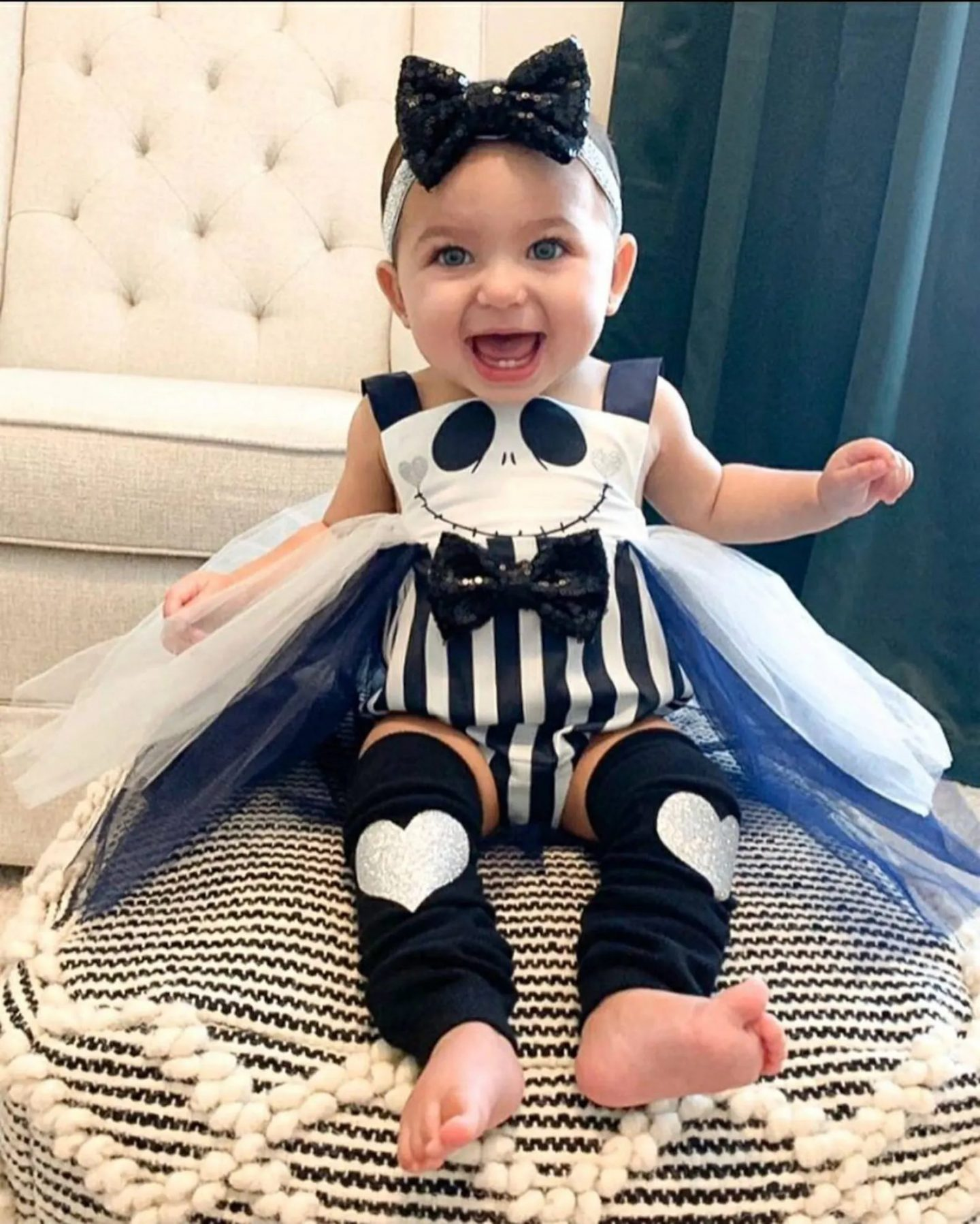 Baby Jack Skellington Halloween costume