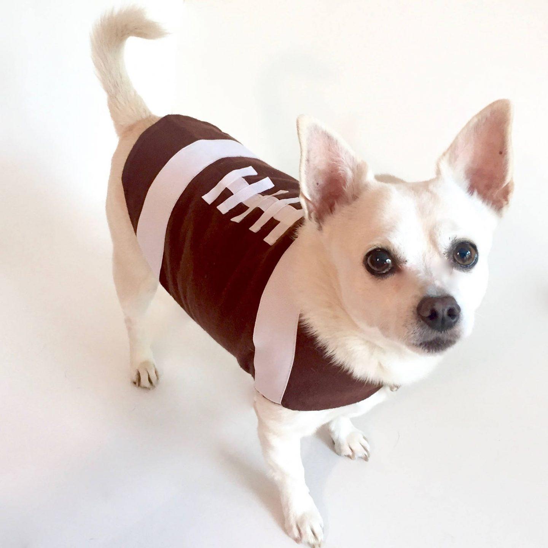 Football dog Halloween costume