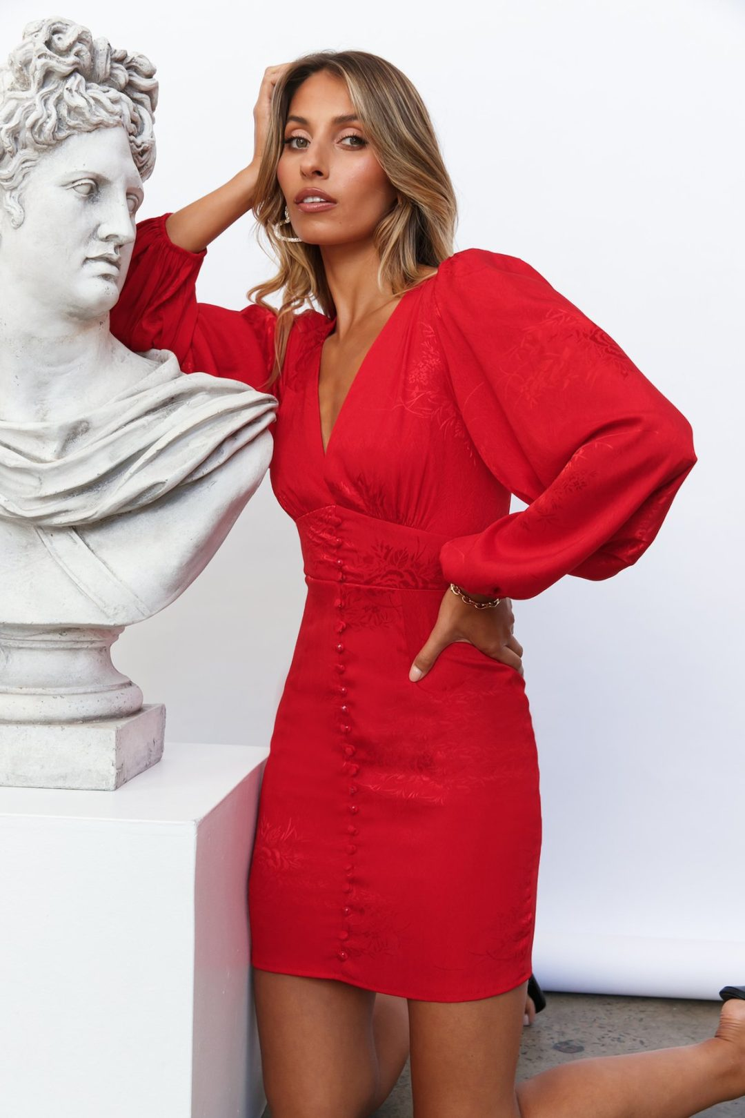 The Best Red Dresses For Date Night: Hello Molly