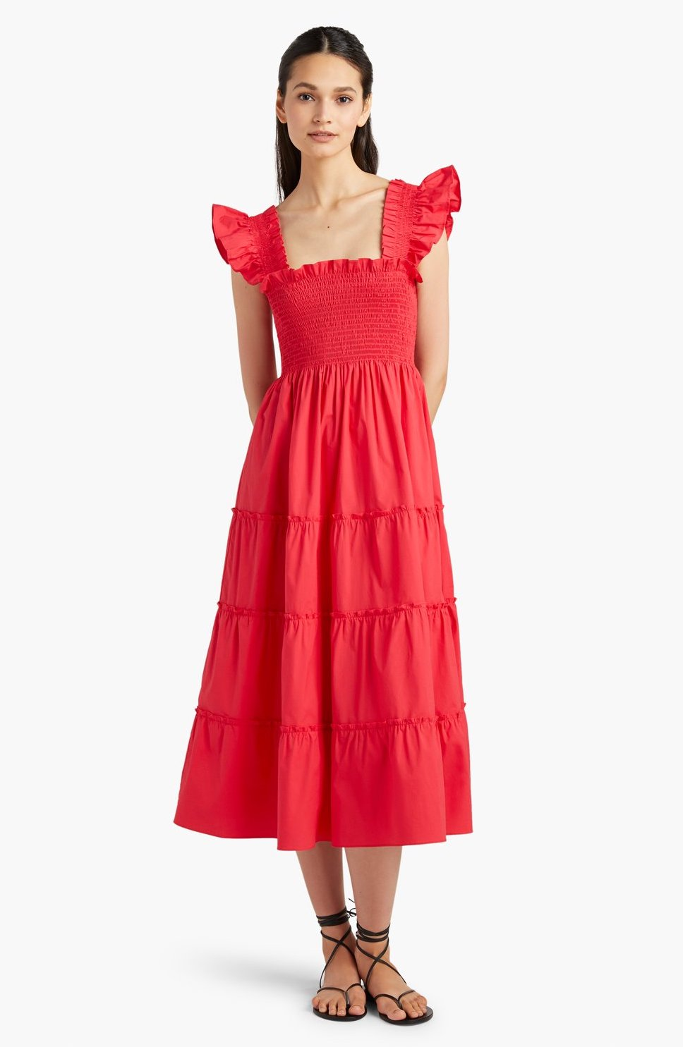 Red nap dress from Hill House Home