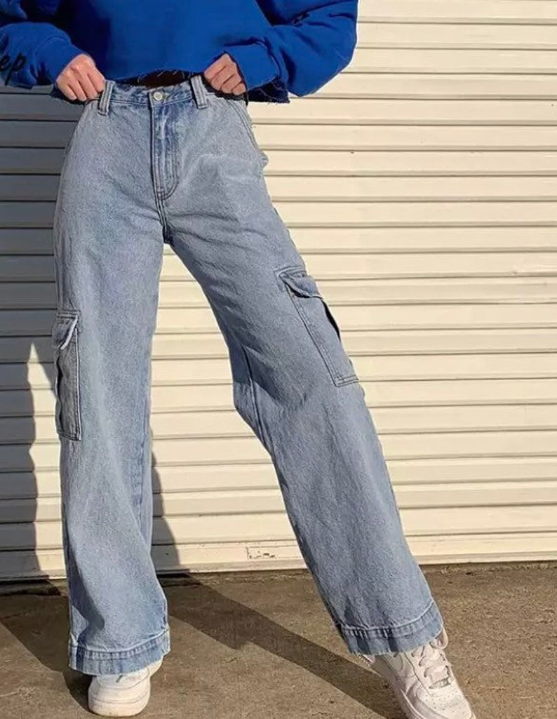 Baggy jeans for aesthetic outfits