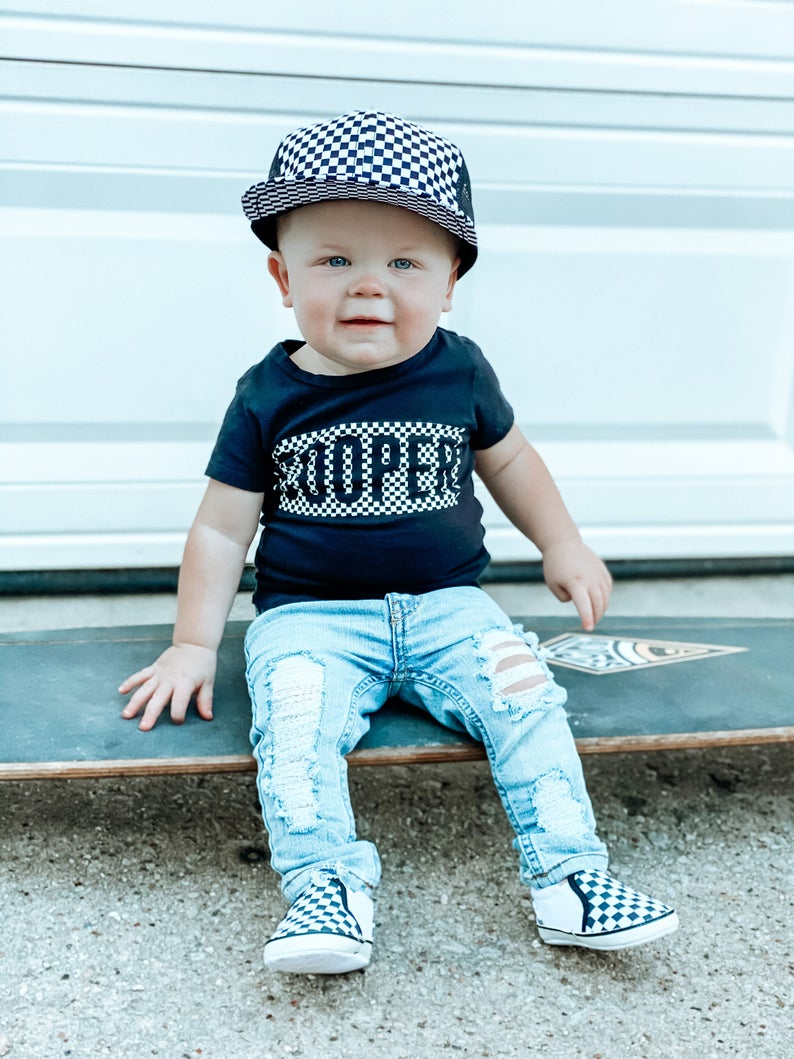 Cooper outfit for baby boys