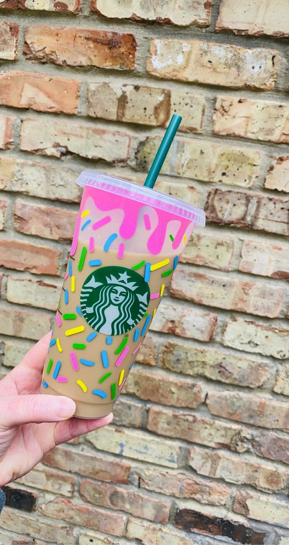 Sprinkles customized starbucks cup