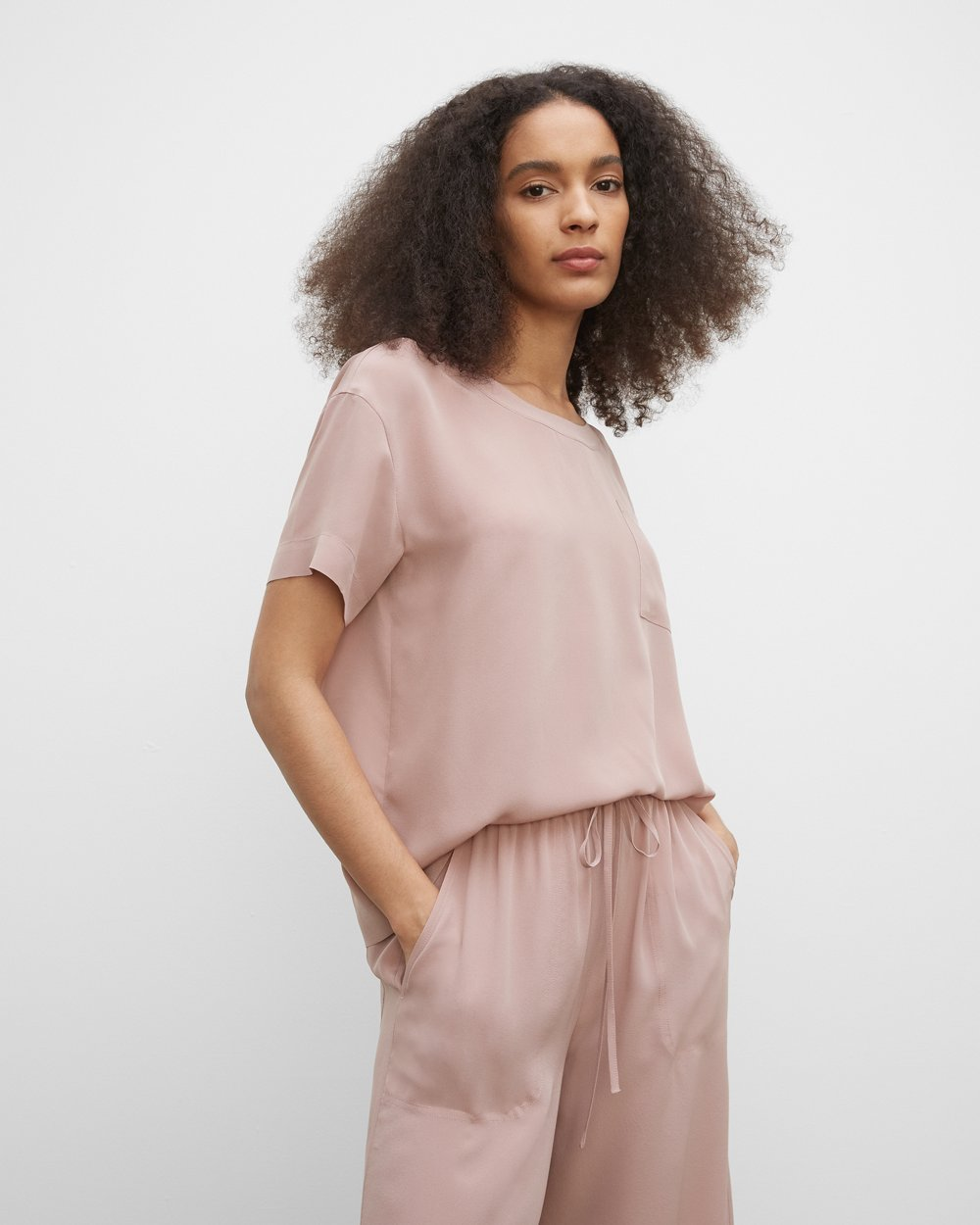 Blushed mauve top from Club Monaco